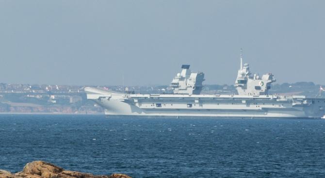 Кораб на полските военноморски сили (ВМС) е аварирал в Балтийско