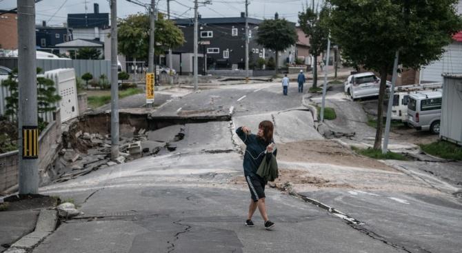 Най-малко 15 души са пострадали при силното земетресение в Япония