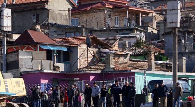 Скандал между съседи е станал в циганския квартал в Кюстендил,