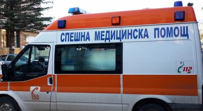 Мъж е пострадал при инцидент на строителен обект в град