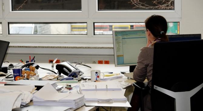 За офис служителите често е трудно да поддържат добра форма