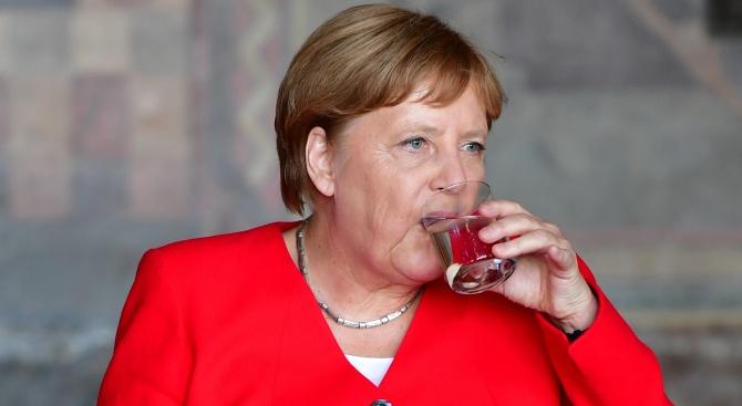 Германската канцлерка Ангела Меркел каза, че се чувства добре ден