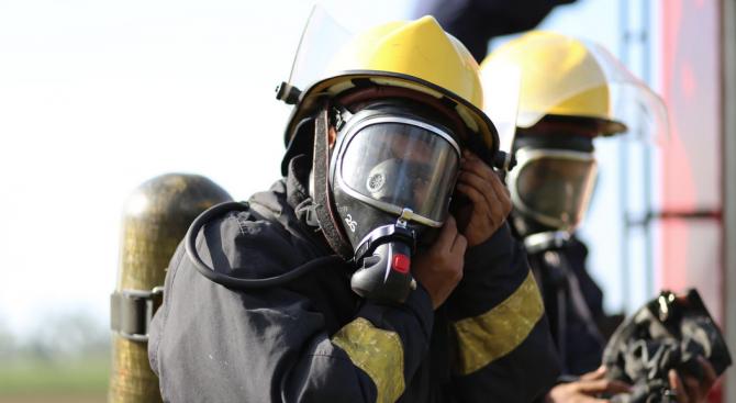 Около 250 белгийски пожарникари протестираха днес в центъра на Брюксел