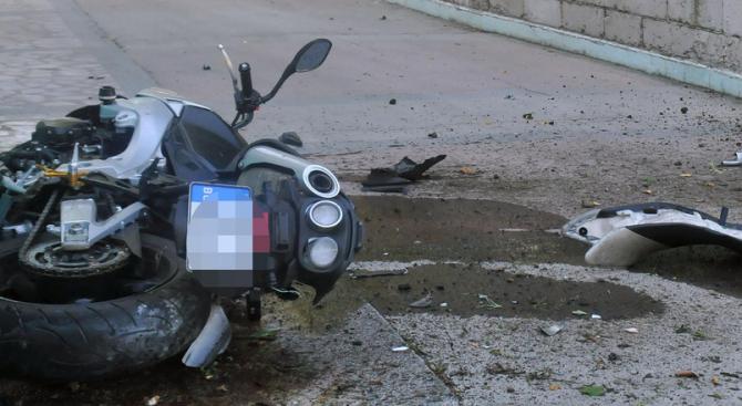 Полицай е загинал при катастрофа с мотор в Перник. Инцидентът