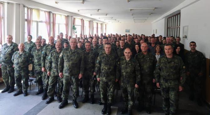 Началникът на отбраната генерал Андрей Боцев проведе днес, 20 юни,