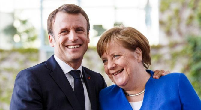 Макрон: АкоМеркел беше кандидат за председател на ЕК, щях да я подкрепя