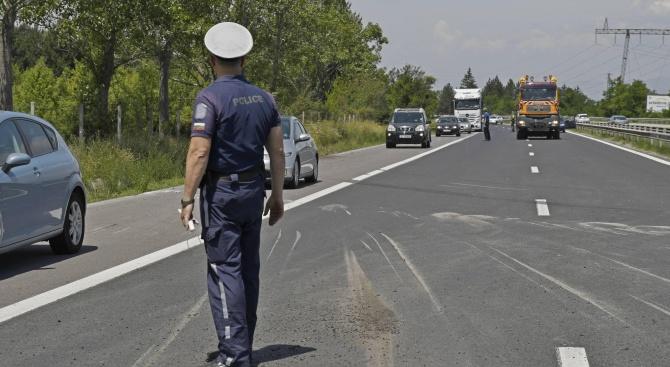 Катастрофата на автомагистрала Тракия край Бургас, при която загинаха двама