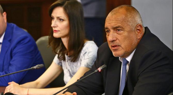 Българският премиер Бойко Борисов предупреди кандидатката за членство в Европейския
