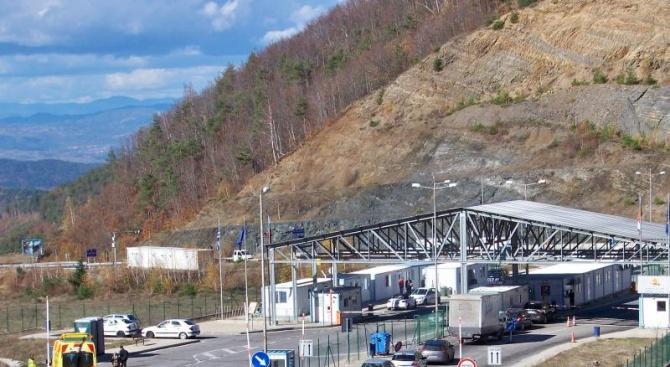 """На българо-гръцката граница на ГКПП """"Кулата"""" и ГКПП """"Маказа"""" е"""