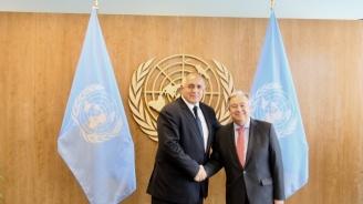 Борисов разговаря по телефона с генералния секретар на ООН Антонио Гутериш