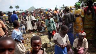 Над 300 000 души са избягали от насилието в ДР Конго от началото на месеца