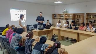 Информационна среща за трафика на бременни жени се състоя в ромския квартал на Сливен