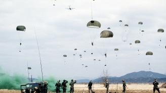 Сухопътните сили на САЩ в Европа с подробности за инцидента със загиналия парашутист