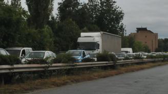 """Интензивен трафик за леки автомобили на ГКПП """"Калотина"""""""
