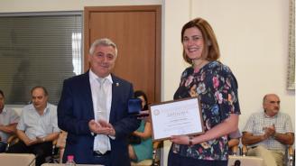 Зам.-министърът на образованието Карина Ангелиева се срещна с академичната общност на Русенския университет