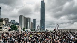 Демонстрантите в Хонконг блокираха пътя пред парламента