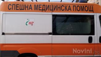 Тежка катастрофа между бус, превозващ деца, и лека кола край Ловеч