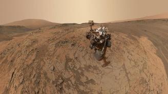 """Марсоходът """"Кюриосити"""" откри високо съдържание на метан на Марс"""