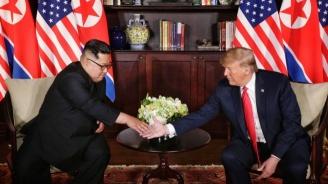 Пхенян: Председателят Ким получи чудесно писмо от президента Тръмп