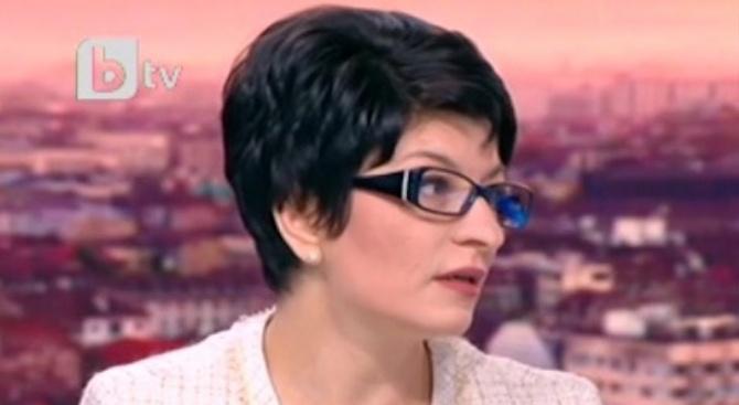 Десислава Атанасова за размера на партийната субсидия: Странни са пазарлъците