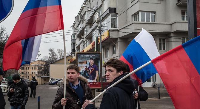 Хиляди протестираха в Москва срещу задържането на политически активисти (Снимки)