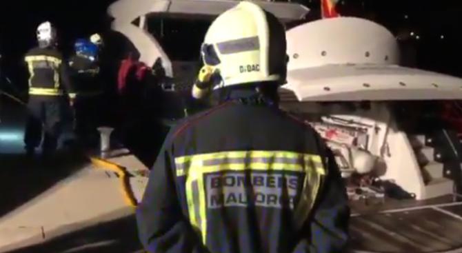 Спасяваха Владимир Кличко от горяща яхта