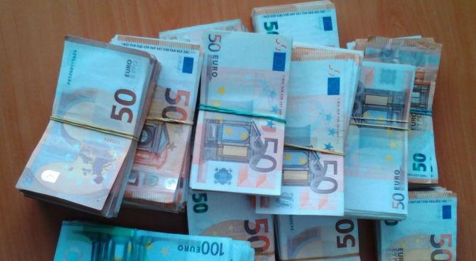 """Недекларирани 110 000 евро откриха служители на дирекцията """"Митническо разузнаване"""