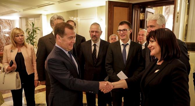 Оптимисти сме за развитието на двустранните отношения между България и