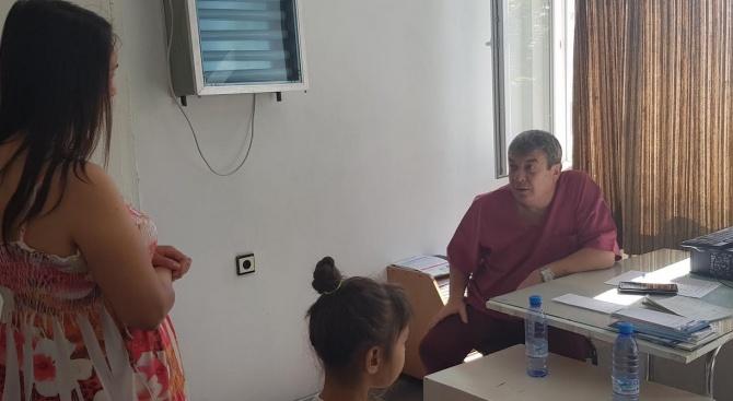 Над 350 деца от Силистра прегледа екипът та Национална програма