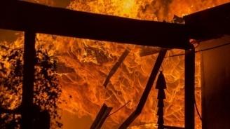 Пожар в апартамент в Габрово