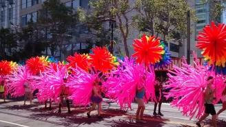 Стотици хиляди участваха в гей парад в Сао Пауло