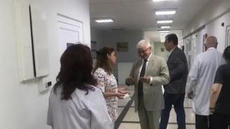 Обиколката на министъра на здравеопазването в областните болници продължава