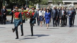 Започна официалното посещение в Москва на българската делегация, водена от председателя на НС Цвета Караянчева