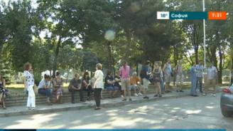 """Столичният квартал """"Гоце Делчев"""" на протест срещу застрояването на зелената площ между блокове"""