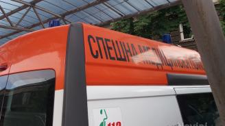 9-годишно момиченце с опасност за живота след катастрофа в Старозагорско