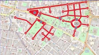 Общината въвежда нова червена зона за паркиране в София