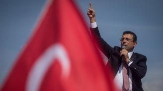 Екрем Имамоглу встъпва в длъжност като кмет на Истанбул