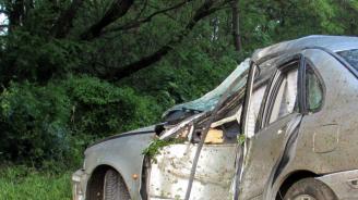 Катастрофа промени временно движението край с. Български Извор