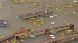 Започва разчистване в Котел след поройния дъжд