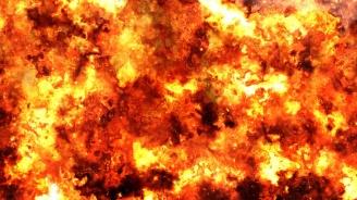 Жена се опита да унищожи с огън гнездо оси, но си запали апартамента