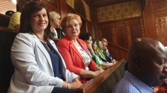 Председателят на ПГ на ГЕРБ д-р Дариткова и Менда Стоянова участваха в среща на жените лидери в Япония