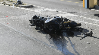 Катастрофа в Шумен, мотоциклетист е пострадал