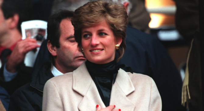 Британската принцеса Даяна е имала интерес да се снима в
