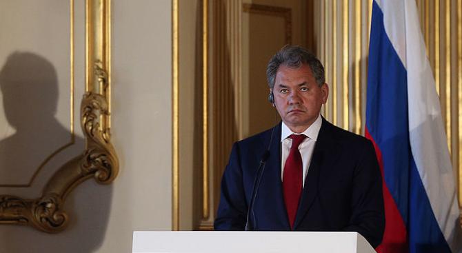 Руският министър на отбраната Сергей Шойгу потвърди днес появилите се