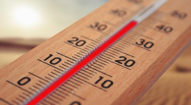 Рекордни температури в Русе