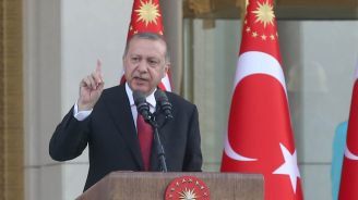 Турският президент Ердоган каза, че първата доставка на руски ракетен комплекс С-400 ще се извърши до 10 дни