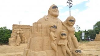 Показват любими детски герои в 12-ия Фестивал на пясъчните скулптури