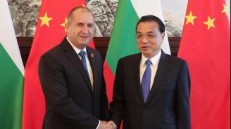 Президентът Радев: За нас Китай е първостепенен партньор от изключително значение