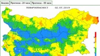 Висока опасност от пожари в Добрич утре