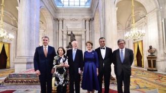 Симеон Сакскобургготски и съпругата му присъстваха на концерт в кралския дворец в Мадрид